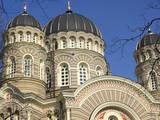 Riga - Lettland - Kirche poster