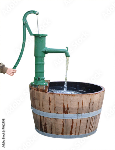 Old Fashioned Hand Water Pump http://us.fotolia.com/id/7062993