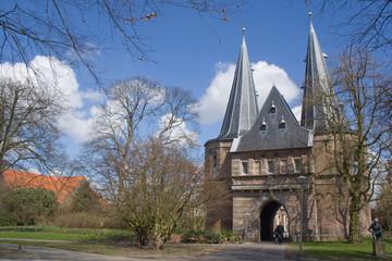 Historisches Stadttor von Kampen, Niederlande