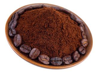 Ground coffe