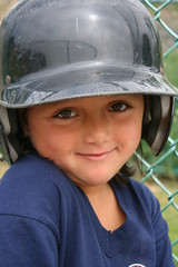 Cute Little Baseball Player