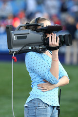 woman video camera operator