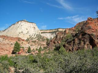 Rochers dans le parc national de Zion