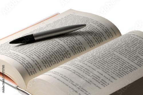 Book pencil