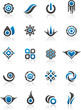 Set of 20 design elements and various graphics