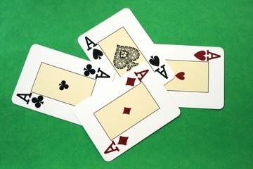 Poker - 4 Assi
