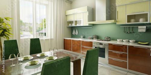 Тосканский Стиль на кухни.