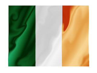 Ireland fluttering