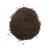 Chocolate cocoa granules poster