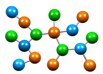 Atomic Molecule Structure in Chemistry