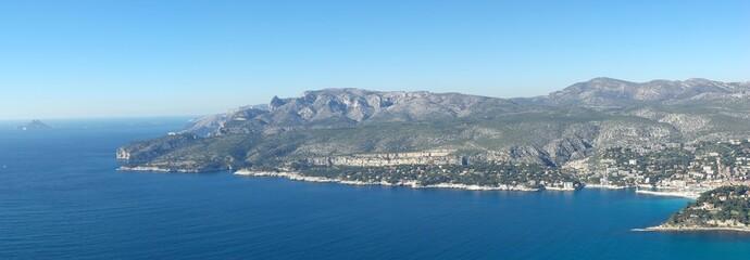 Panoramique - Cassis Route des Crêtes