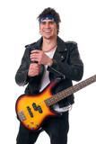Rock singer poster