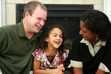 Interracial Family poster