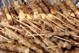 Brochettes de viande poster