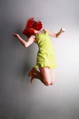 jumping..