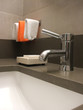 Bathroom Still Life: Modern Faucet and Sink
