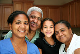 Fototapety Minority Family