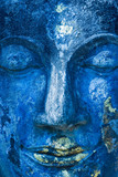 Buddha face, Sukhothai, Thailand. poster