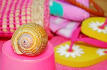 Seashell by Beach Accessories