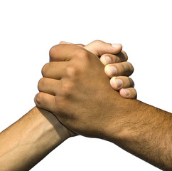 Simbolo di amicizia e pace