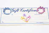 Baby Gift Certificate poster