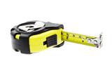 Measuring tape with magnetic head poster