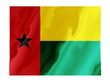 Fluttering image of the Guinea Bissau national flag