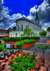 CHIJMES, a National Monument, Singapore