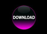 button download pink neon poster