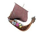 Viking Ship Drakkar poster