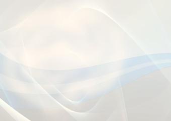 Dynamic Wave on blue Background