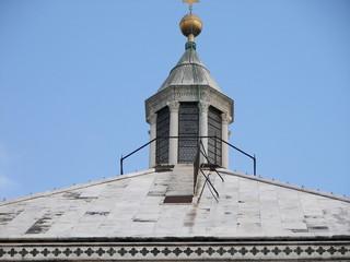 Il tetto del Battistero di Firenze