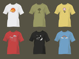t-shirts with nature motifs poster