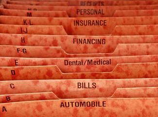 Filing Folder for Bills