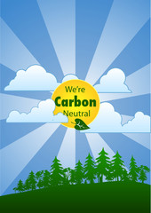 We're Carbon Neutral (Portrait)