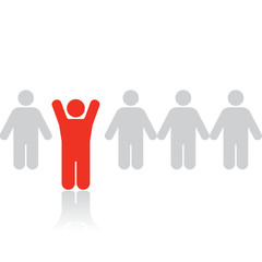 Business Concepts: Stand Out From The Crowd