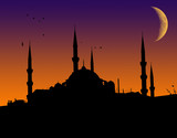 Islamic mosque 2 poster