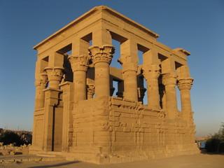 Ptolemaic Traian Kiosk - Philae Temple, Aswan