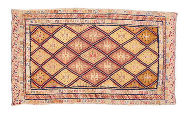 carpet with geometric ornament