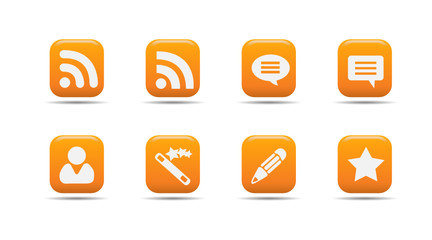 Web icon set 7 | Apricot series