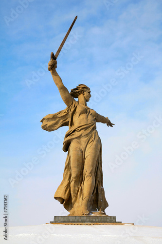 monument of Native land- mother in Volgograd