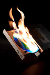 Burning DVD Drive