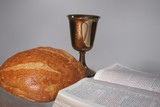 Communion and Scripture poster