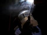 night shift weld poster