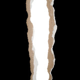 Vertical Torn Cardboard poster