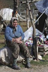 333 Nomadic woman