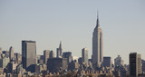 New York Skyline with Empire State Building poster
