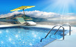 canvas print picture Swimming-pool