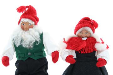 Santa puppets