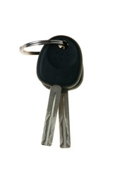 two keys from the car